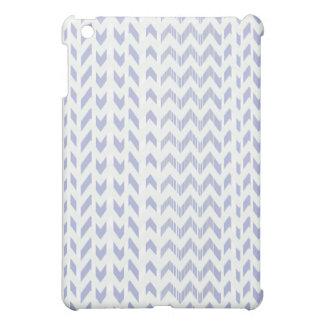 Lila und weißer Zickzack IPad Minikasten iPad Mini Hülle