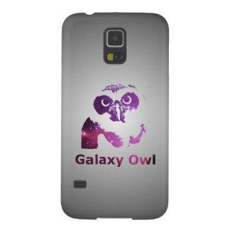 Lila Universum der Galaxie-Eulen-| Samsung S5 Hülle