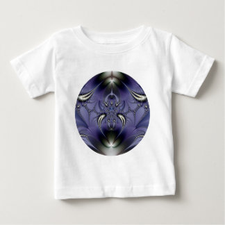 Lila Verzierung Baby T-shirt