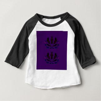 Lila Verzierungen Vintage   LILA PFLAUME Baby T-shirt