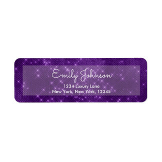 Lila violette Schein-Hochzeit oder Geburtstag