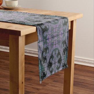 Lila Wanderer-Tabellen-Läufer-Esszimmer-Entwurf Kurzer Tischläufer