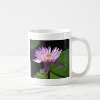 Lila Wasser Lilly Kaffeetasse