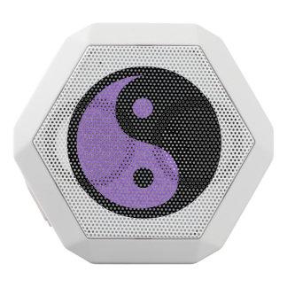 Lila Yin Yang Weiße Bluetooth Lautsprecher