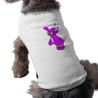 Lila Yurple Vektor T-Shirt