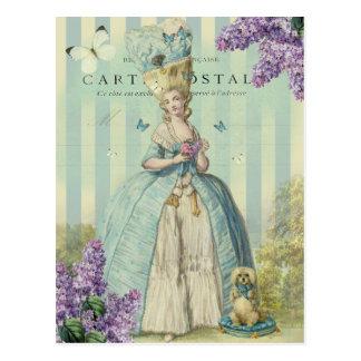 Lilas Au printemps Postkarte
