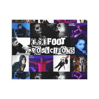 Lilfoot Fotografie-Plakat Galerie Faltleinwand