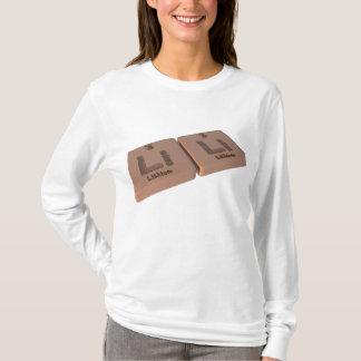 Lili als Lithium Li und Lithium Li T-Shirt