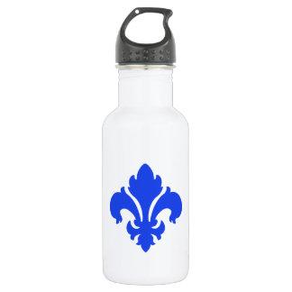 Lilie 1 Blau Trinkflaschen