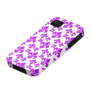 Lilie 4 lila iPhone 4/4S cover