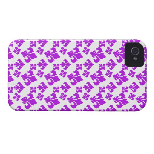 Lilie 4 lila iPhone 4 cover