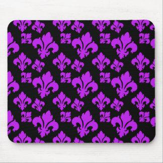 Lilie 4 lila mousepad