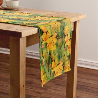 Lilie der Inkas Kurzer Tischläufer