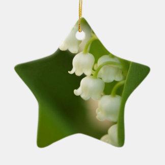 Lilie der Tal-Blume Keramik Ornament