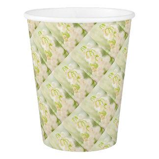 Lilie der Tal-Blumen-Gruppen-Skizze Pappbecher