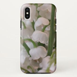Lilie der Tal-Blumen iPhone X Hülle