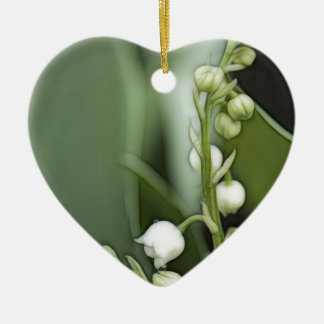 Lilie der Tal-Blumen Keramik Ornament
