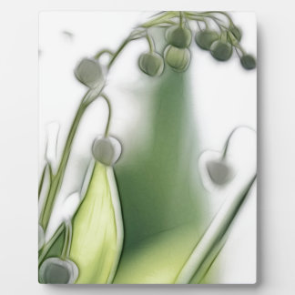 Lilie der Tal-Blumen-Wiederholungs-Skizze Fotoplatte