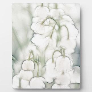 Lilie des Tal-Blumen-Blumenstraußes Fotoplatte