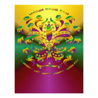Lilie Karneval 2011 V-2 21,6 X 27,9 Cm Flyer