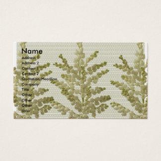 LILIE LILLY Blumen - genießen Sie n-Anteil-Freude Visitenkarte