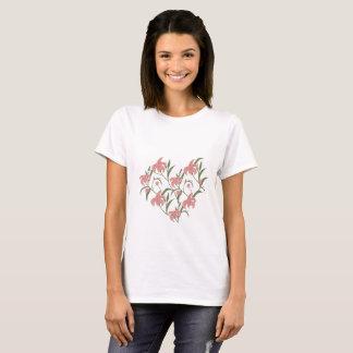 Lilie mit Blumen T-Shirt