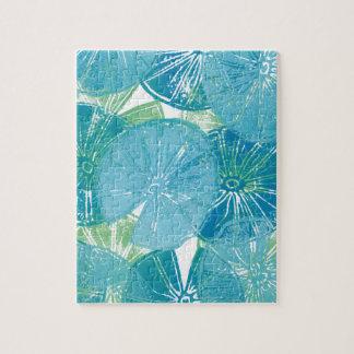 Lilien-Auflage-Blues Puzzle