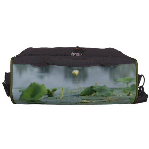 Lilien-Auflage Laptop Taschen