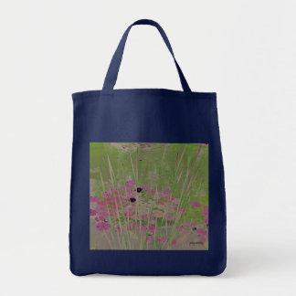 Lilien-Auflage-Teich-Kunst-Tasche Einkaufstasche