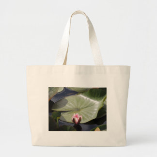 Lilien-Auflage und Blume Tragetasche