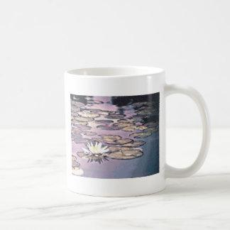 Lilien-Auflage-Zeichnen Kaffeetasse
