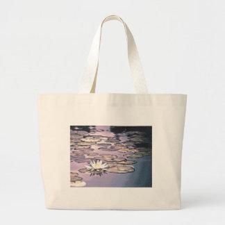 Lilien-Auflage-Zeichnen Tragetasche