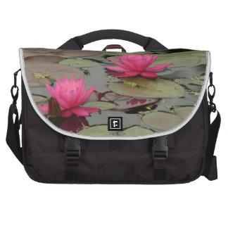 Lilien-Auflagen mit rosa Blumen