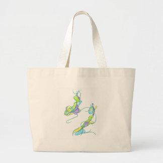 Lilien-Auflagen Tasche