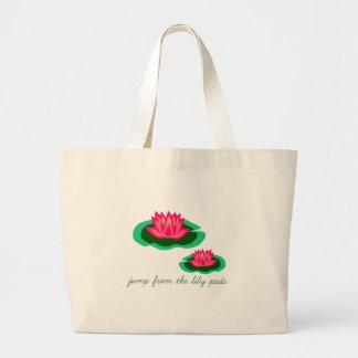 Lilien-Auflagen Einkaufstasche