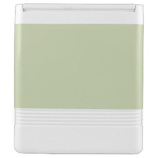 Lilien-Grün für französische Chateau-Hochzeit Kühlbox