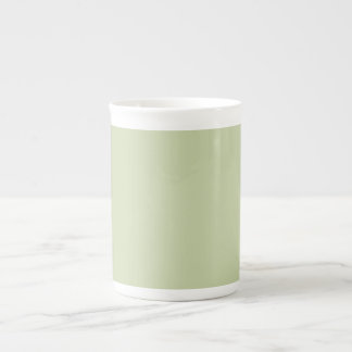Lilien-Grün für französische Chateau-Hochzeit Porzellantasse