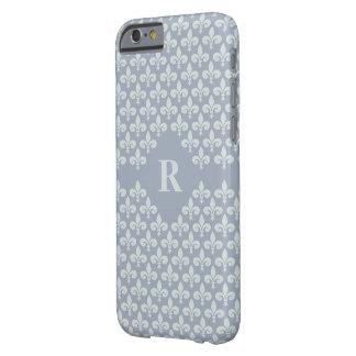 Lilien-kundenspezifische Monogramm-Hüllen Barely There iPhone 6 Hülle