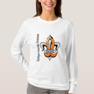 Lilien-mehrfache Sklerose-Hoffnung T-Shirt
