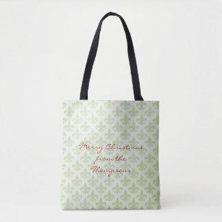 Lilien-Muster-Editable Taschen-Tasche Tasche