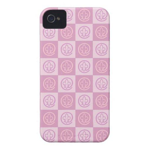 Lilien-Muster Case-Mate iPhone 4 Hüllen