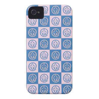 Lilien-Muster iPhone 4 Case-Mate Hüllen