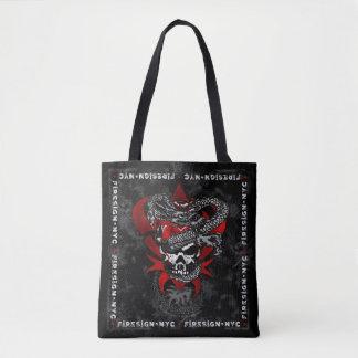 Lilien-Taschen-Tasche des Drache-Schädel-w/Shadow Tasche