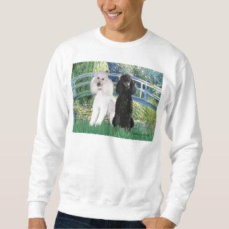 Lilien-Teich-Brücke - 2 Standardpudel Sweatshirt