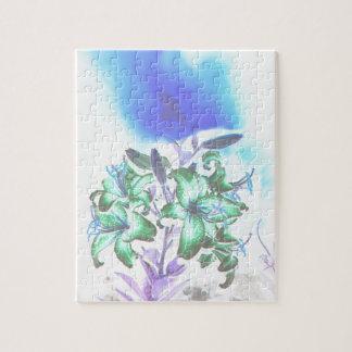 Lilien und Rauch Puzzle