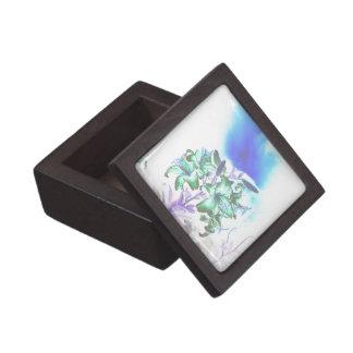 Lilien und Rauch Schachtel
