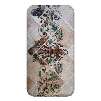 Lilien-Wandgemälde iPhone 4 Etui
