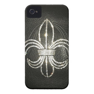 Lilienlederblick-Druckkasten iPhone 4 Case-Mate Hüllen