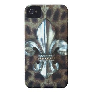 Lilienleopard-Druckkasten iPhone 4 Cover