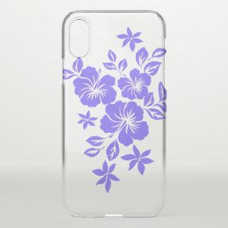 Lilikoi Hibiskus-hawaiische Blumenflieder iPhone X Hülle